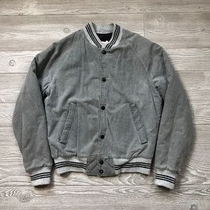 VTG King Louie Pro Fit Denim Bomber Men's XS V24
